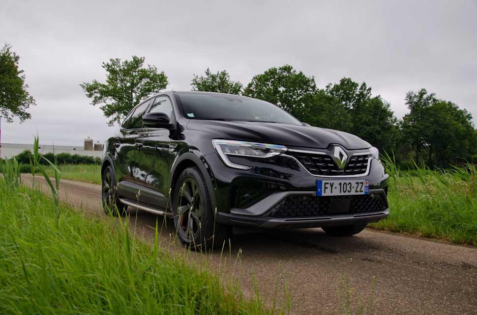 Rechter voorzijde Renault Arkana 2021