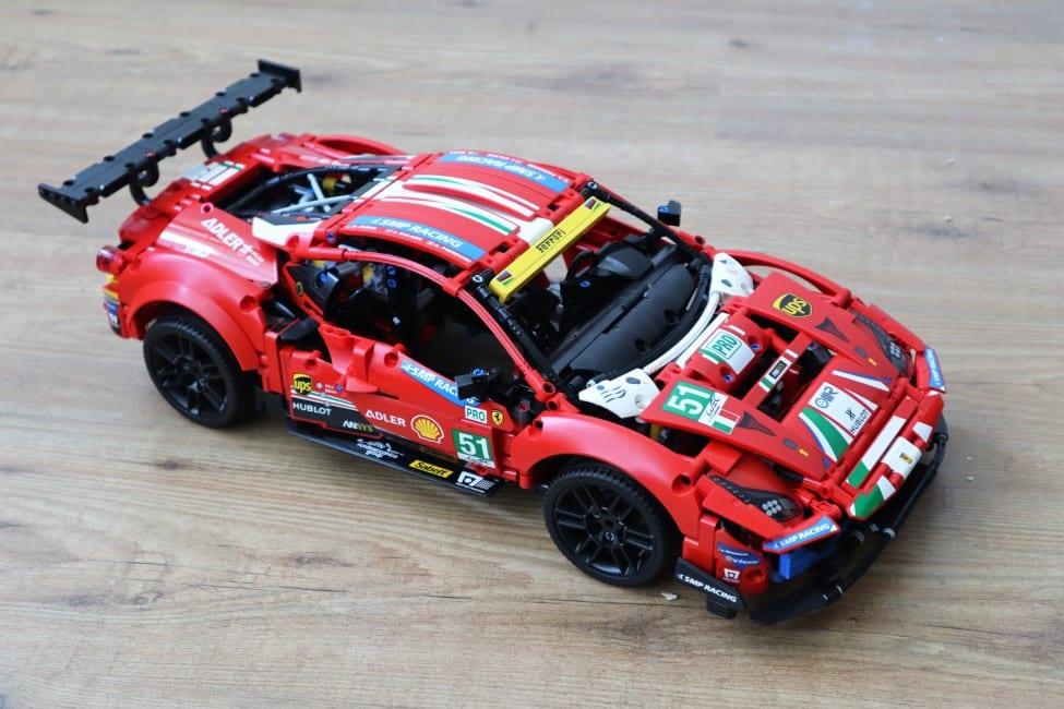 LEGO Ferrari 488 GTE Review