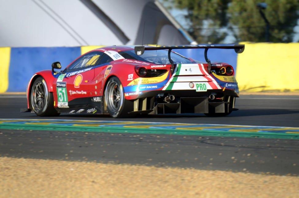 De echte Ferrari 488 GTE