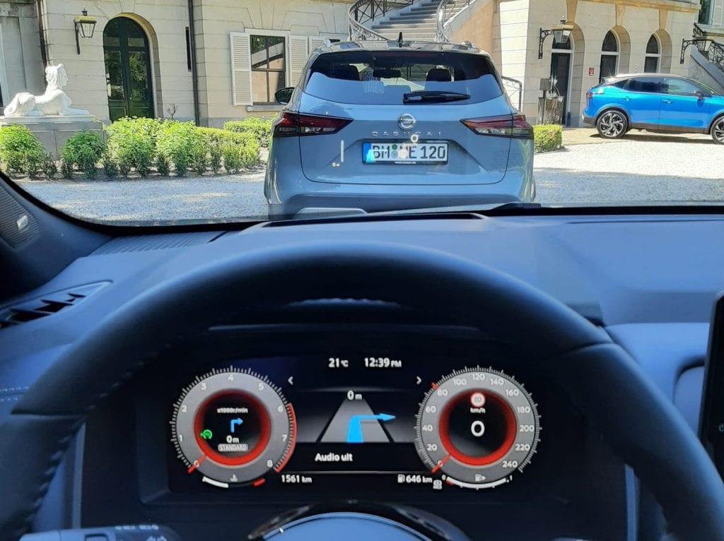 Head-up-display Nissan Qashqai