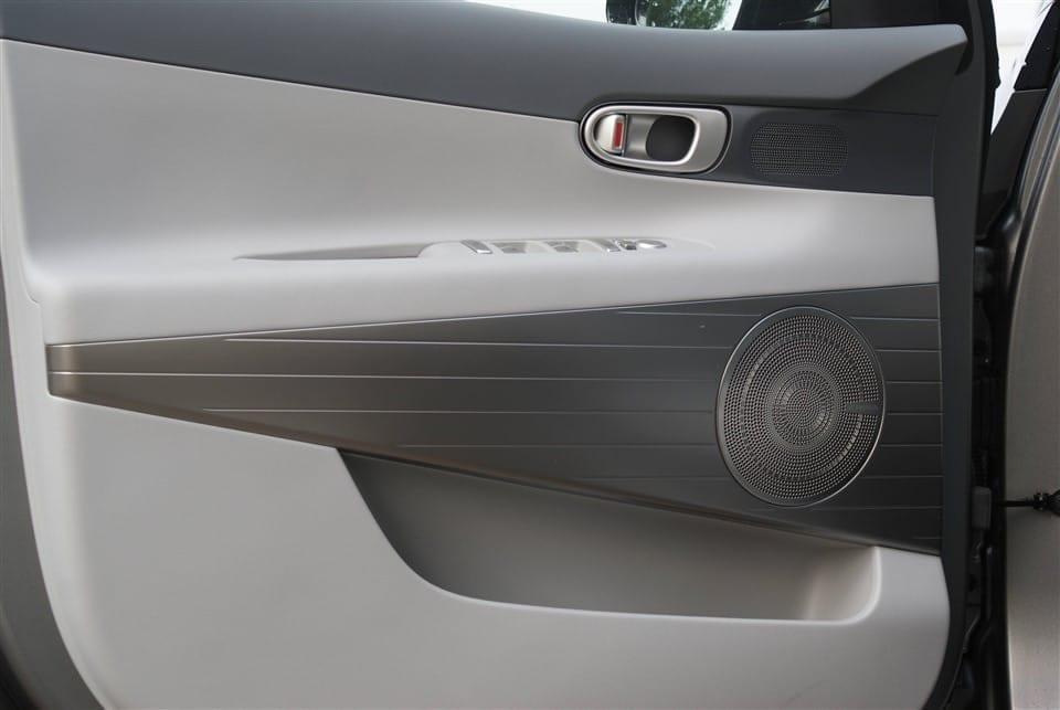 binnenkant bestuurderssportier Hyundai NEXO