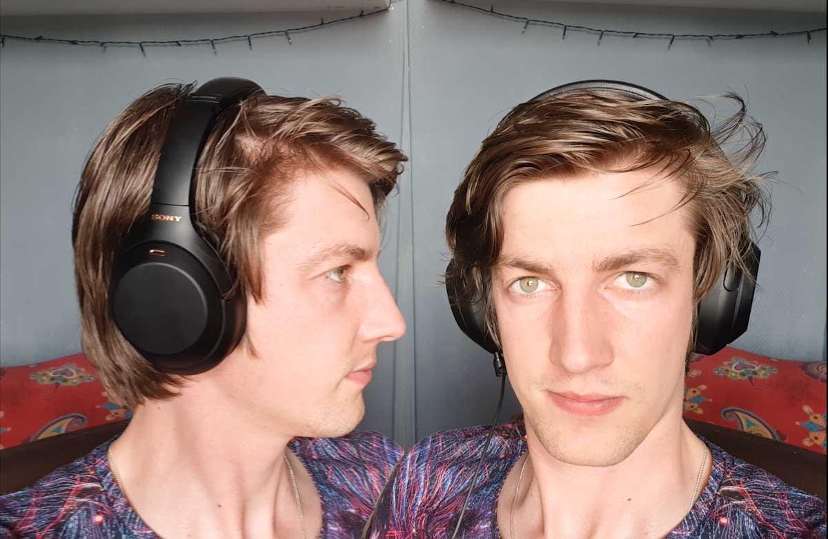Sony WH1000-XM4 active noise cancelling headphones