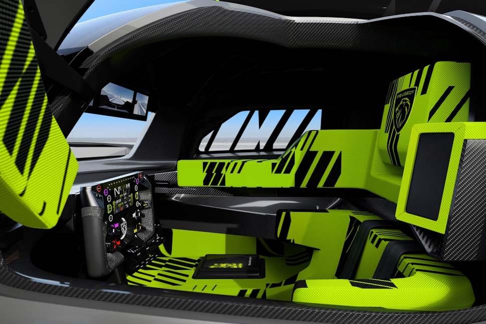 Le Mans Hypercar interior, Kryptonite Green