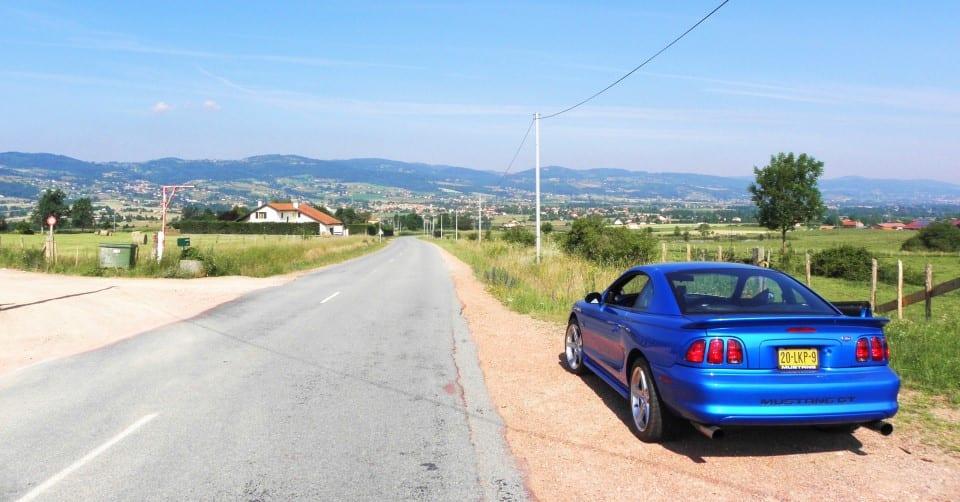 Mustang in Frankrijk