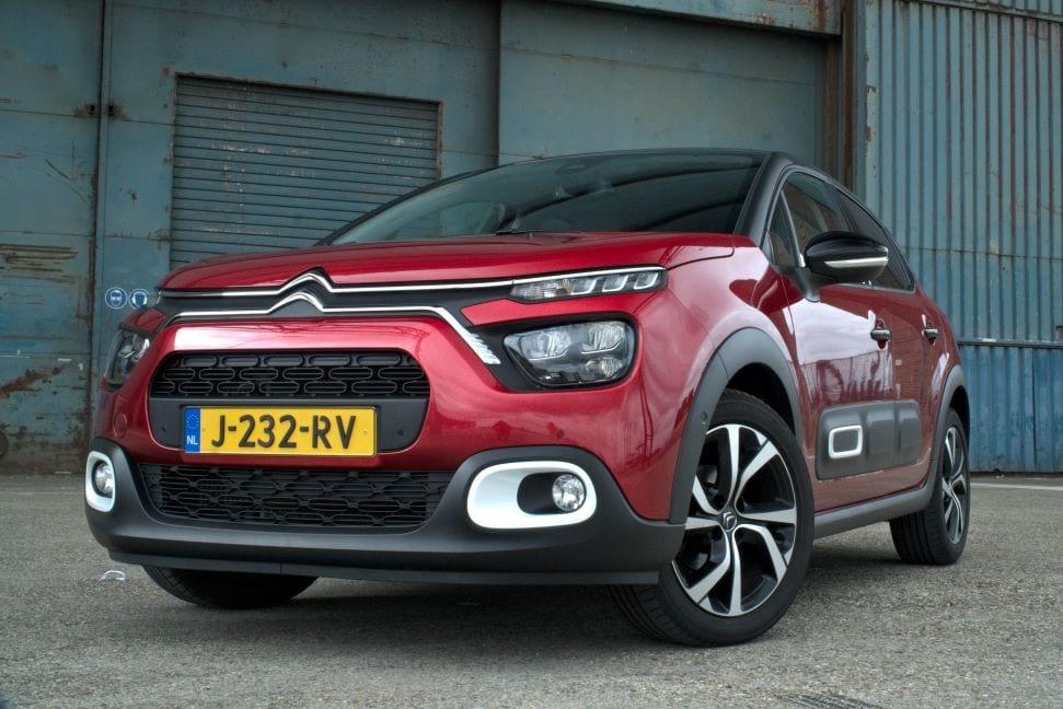 De voorkant van de Citroën C3 is complex en interessant.