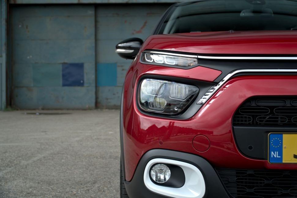 Een typische Citroën: unieke vormen en gekke lijnen.