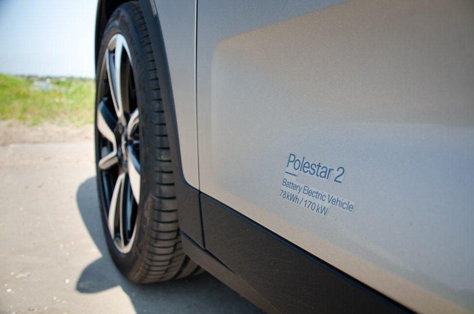 Polestar 2 Long range Single Motor, Battery Electric Vehicle, 78 kWh / 170 kW