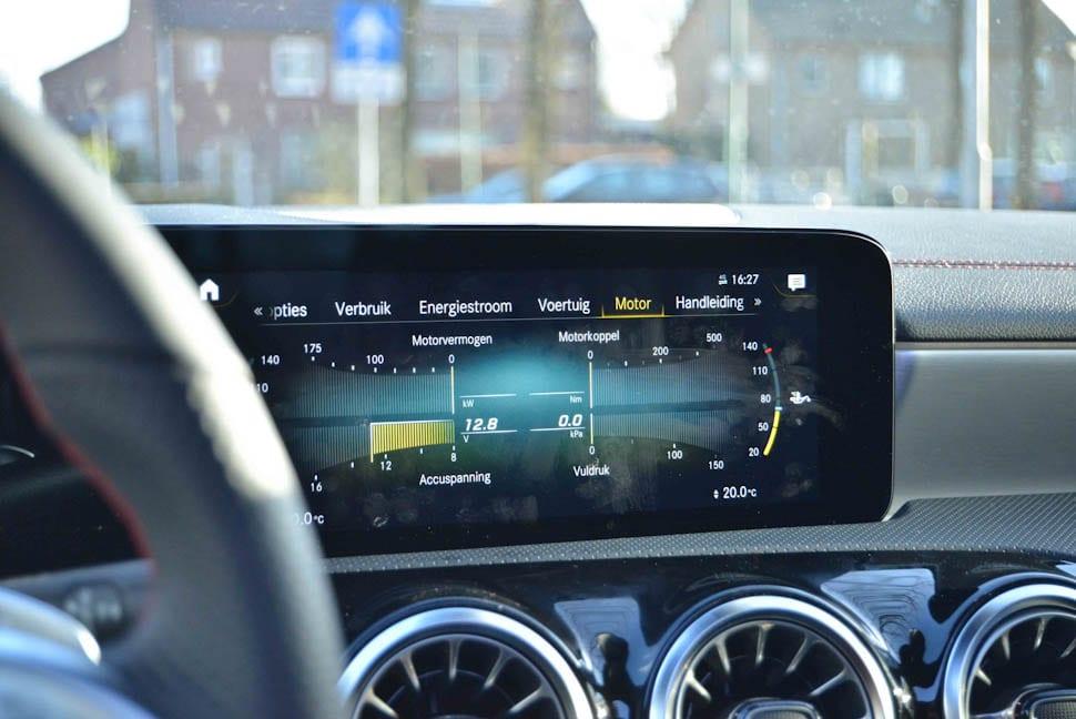 Infotainmentscherm Mercedes