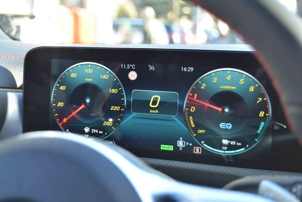Tellerscherm Mercedes EQ
