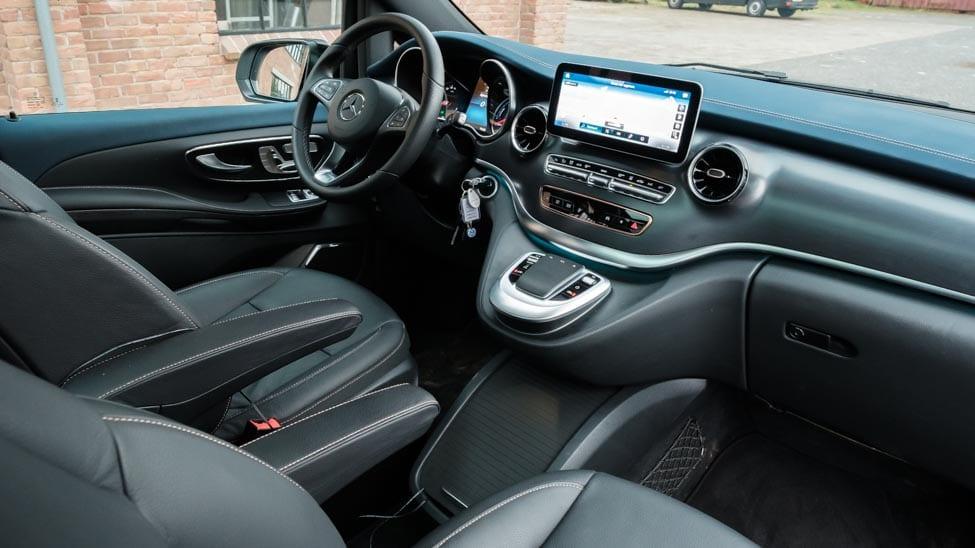 interieur Mercedes EQV