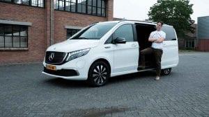 Mercedes EQV rijtest