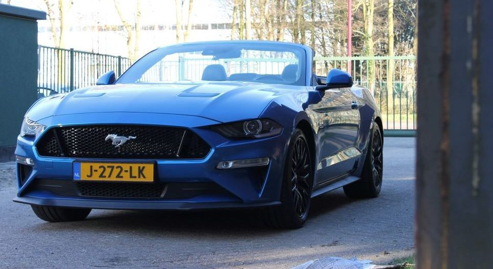 Ford Mustang voorkant