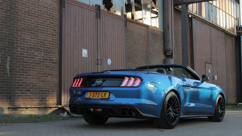 Ford Mustang achterkant