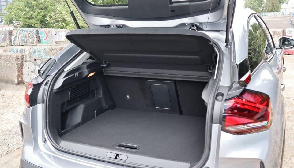 Citroën ë-C4 kofferbak