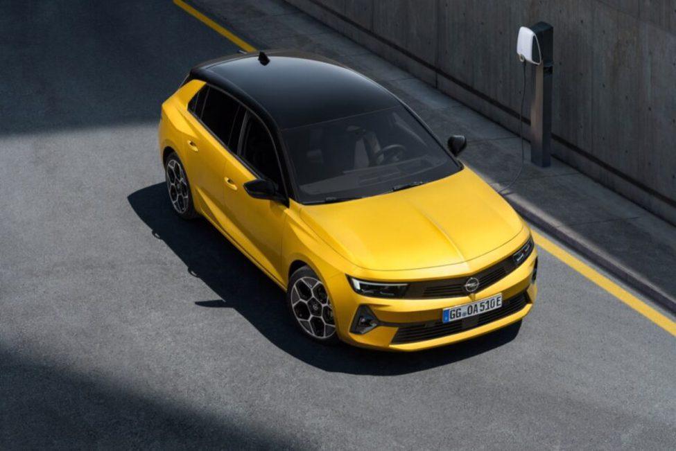 De nieuwe Opel Astra komt in kekke kleuren.
