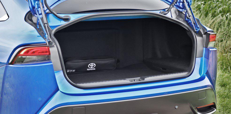 Toyota Mirai bagageruimte