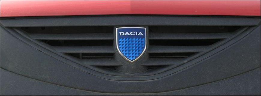 Het oude logo van Dacia