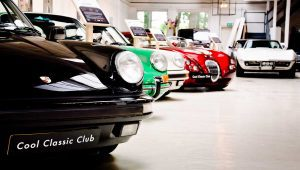 Porsche 911's en Wiesmann bij Cool Classic Club