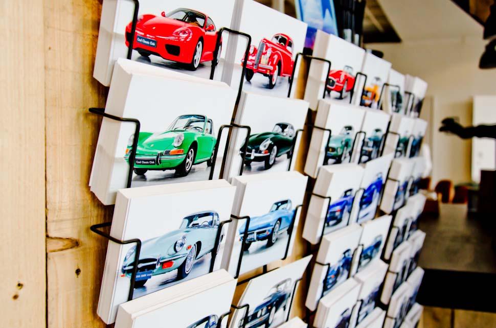 Cool Classic Club kaartjes met auto's, klassiekers, oldtimers