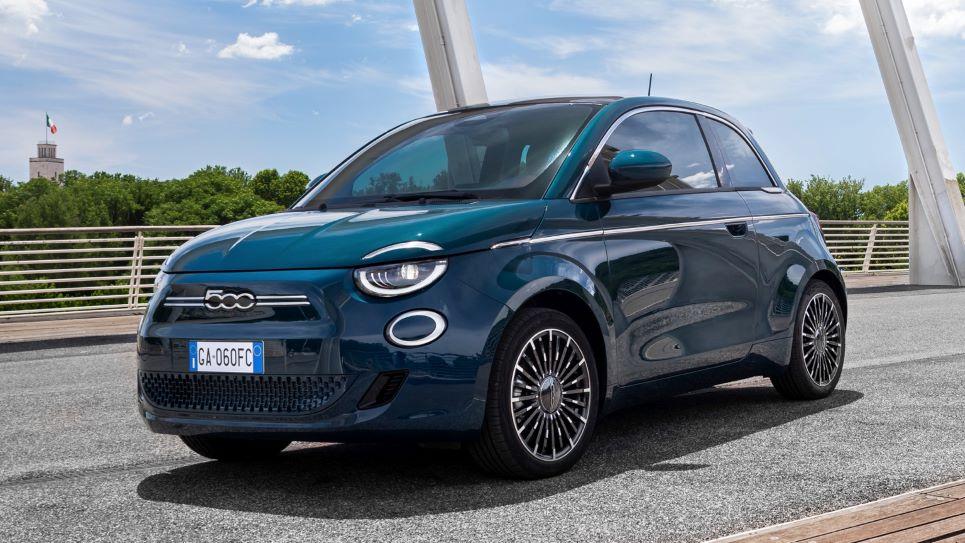 Fiat 500e autolympische spelen