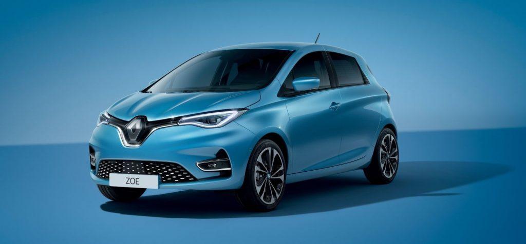 Renault Zoe 2020 Olympische spelen