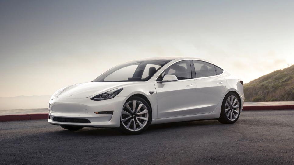 Tesla Model 3 autolympische spelen 2020