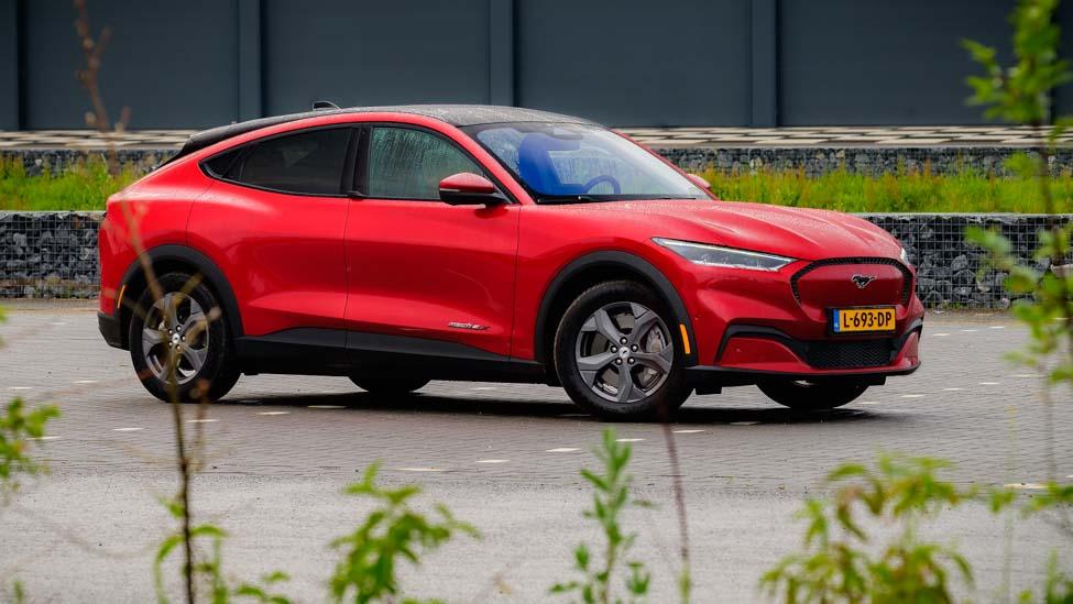 Rechterzijde Ford Mustang Mach E RWD