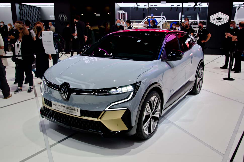 Renault Mégane Electric E-tech