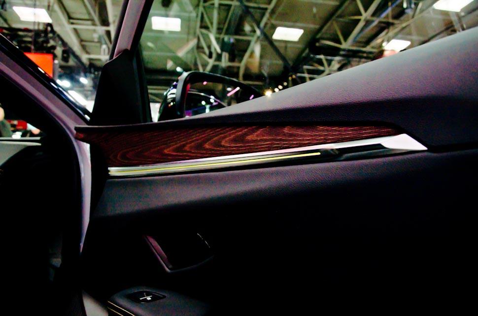 Deurpaneel Renault Megane Electric E-Tech, houtlook