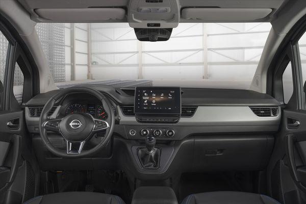 Nissan Townstar interieur