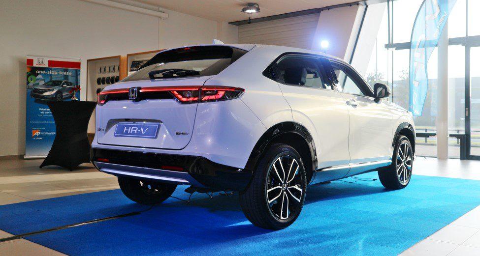 Vernieuwde Honda HR-V achterkant