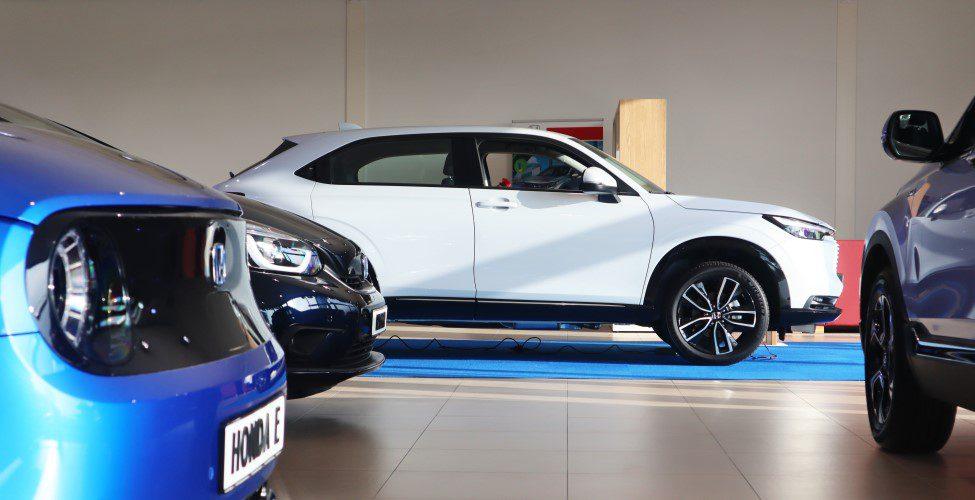 Honda HR-V in showroom