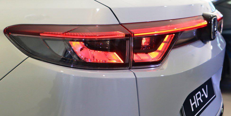 Vernieuwde Honda HR-V achterlichten